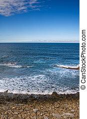 plaża, ocean
