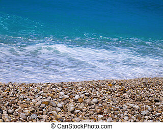 plaża, oludeniz, indyk