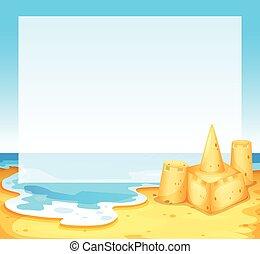 plaża, prospekt