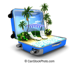plażowe zwolnienie, pakunek