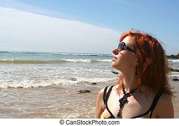 plażowe zwolnienie