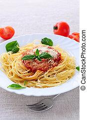plaat van, pasta