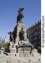 Plac Matejki and Grunwald monument3