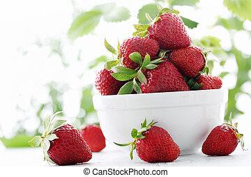 placa, fresas, lleno