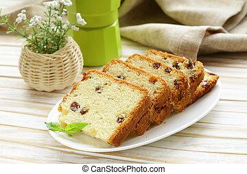 placa, fruitcake, pasa