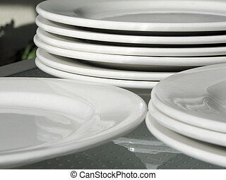 placas, blanco