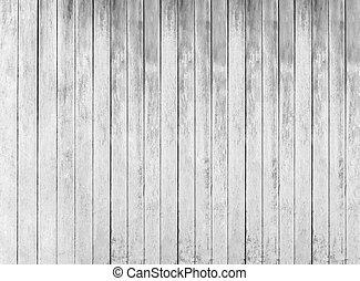 placas, cerca, textura, madeira, fundo, branca, áspero
