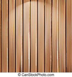 placas, vertical, ilustração, madeira, isolado, textura, seamless, realístico, vetorial, experiência.