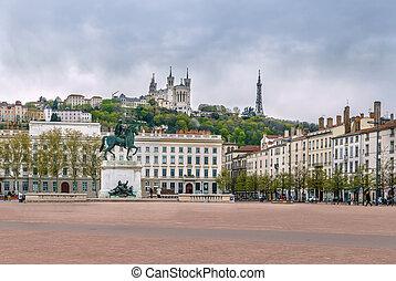 Place Bellecour, Lyon, France