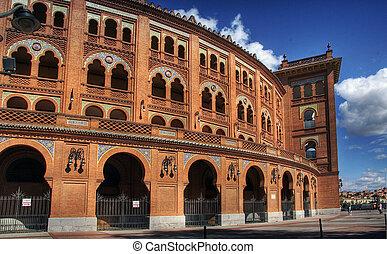 place,  Madrid,  de,  -,  ventas,  Toros,  las