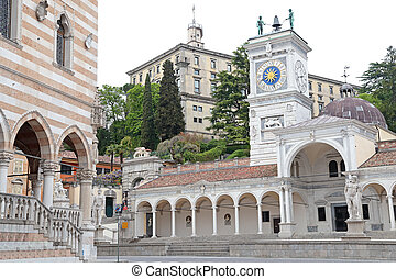 Place of Freedom in Udine, Italy - The ancient place of...