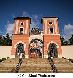 Place of pilgrimage in Jaromerice u Jevicka
