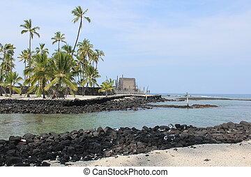 Place of Refuge Big Island Hawaii