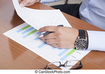 Place of Work - stock image
