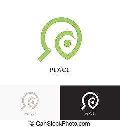 Place search logo