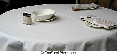 Place setting - Modern place setting, dining table