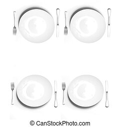 Place Settings for Four