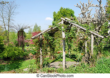 Place to rest - A beautiful place to rest in a garden in ...