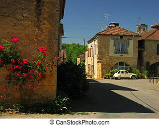 Southwest at the border of Perigord and Quercy