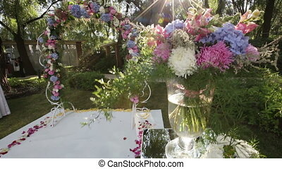 Place wedding ceremony - Design elements of a wedding...