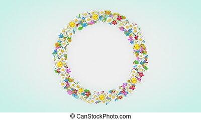 "placeholder, animation."", cadre, fond, ""floral, fleur"
