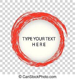 placement, vecteur, gabarit, effet, infographic, crayon, fond, cercle, frontière, transparent, rouges, trou