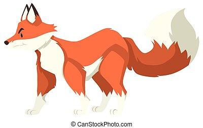 placer seul, loup, rouges