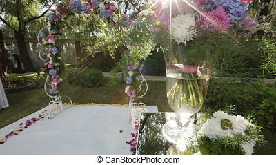 Places wedding ceremony - Design elements of a wedding...