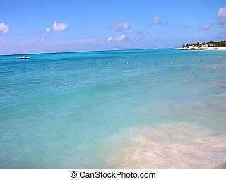 Placid water - Placid turquoise water. Shot in the Caribbean...