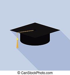 plafond fixe, remise de diplomes, icône
