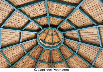 plafond, gazebo