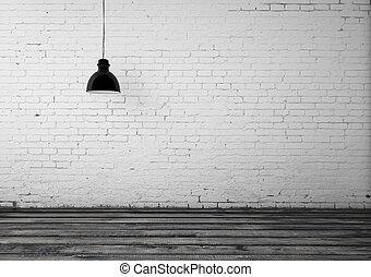 Stockfotografie van balken plafond hout kamer gezin for Kamerlamp plafond