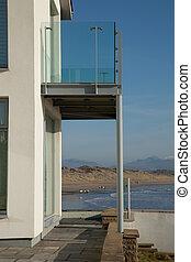 plage., balcon