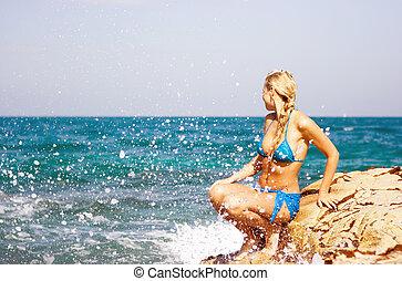 plage, beauté