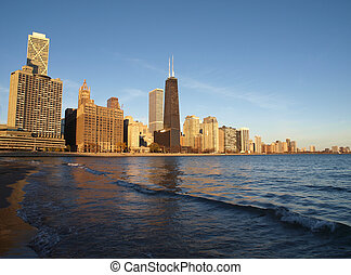 plage, chicago