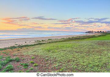 plage, entrée, australie, nord