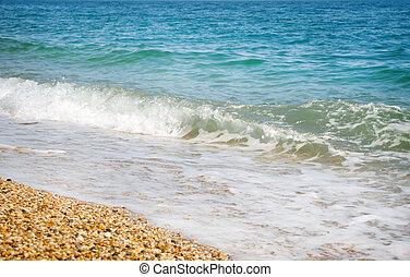 plage, mer, été