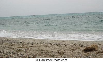 plage, mer, vagues