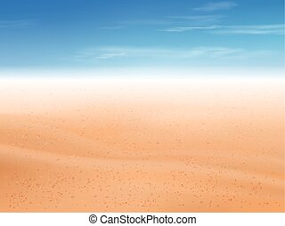 plage sable, désert, fond, ou