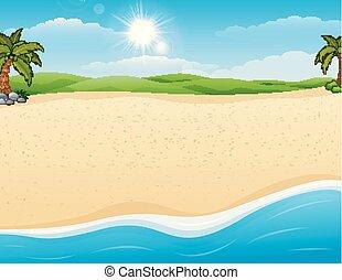 plage sable, fond