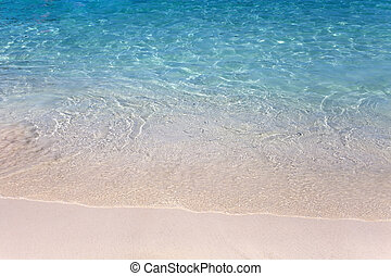 plage tropicale, mer