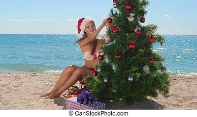 plage tropicale, vacances noël