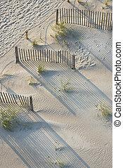 plage., vue aérienne