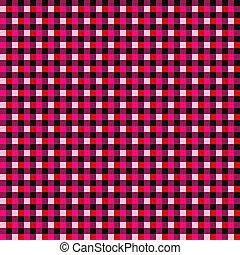 plaid, 背景, ピンク, 赤, seamless