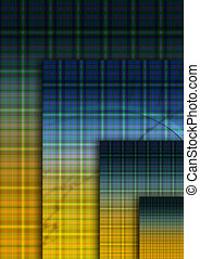 Plaid - Abstract background