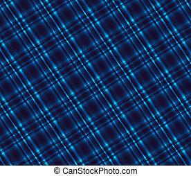 Plaid Dark blue tartan background