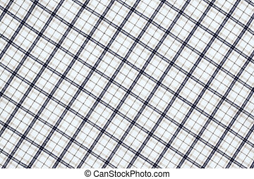 Plaid fabric cloth background
