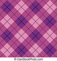Plaid in Purple and Pink
