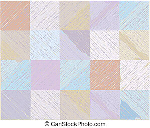 Plaid seamless pattern in pastel colors