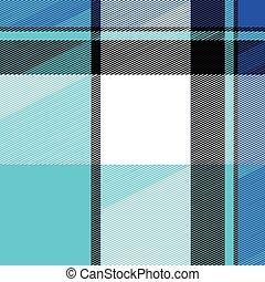 Plaid Texture - Blue striped plaid pattern that tiles...